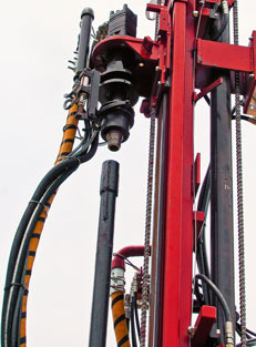 Well Drilling Rig -  Upset Pipe - DeepRock