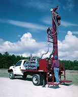 A DR-150 Geo-thermal drilling rig