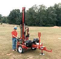 DR20 smallest all-hydraulic tophead water well drilling rig
