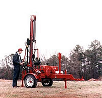 DR30 Designed for shallow monitoring wells and soil sampling