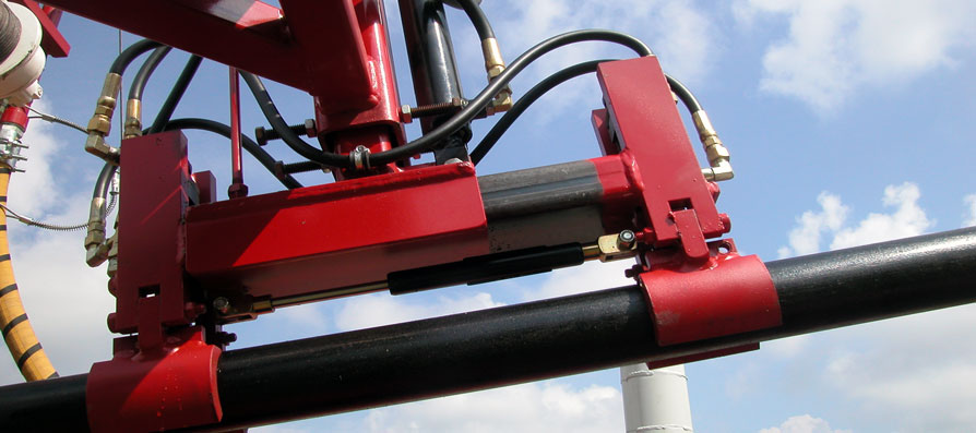 OTTO Automatic Water Well Drill Rod Handling System