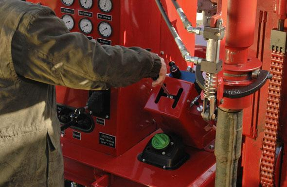 Automatic Drill Rod Loader Control for OTTO on DR150 Water Well Drilling Rig